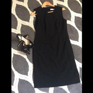Calvin Klein Black Sheath Dress